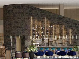 bar restaurant balm hotel crowne plaza nice grand arenas