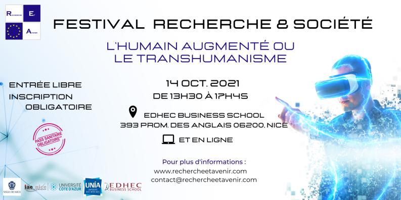 FESTIVAL RECHERCHE & SOCIÉTÉ REA 2021