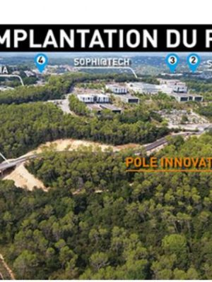 implantation projet pole innovation